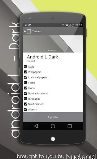 Android L Dark Theme – CM11 v2.g