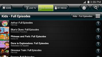 Screenshot of US Cellular Mobile TV
