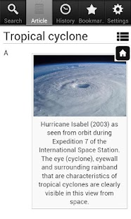 Hurricane Encyclopedia - Free- screenshot thumbnail