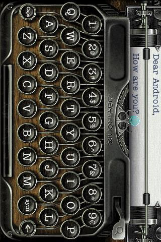 TypeWriter- screenshot