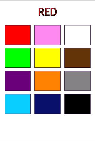 цвета на английском картинки: