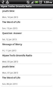 Hiyaw Tesfas Oromifa Radio - screenshot thumbnail