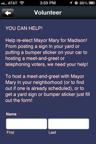 Mayor Mary Hawkins Butler - screenshot