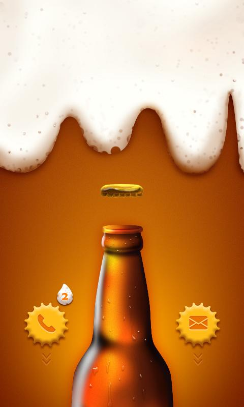 CoolBeer GO Locker Theme - screenshot