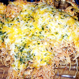 Baked Spaghetti with Chicken