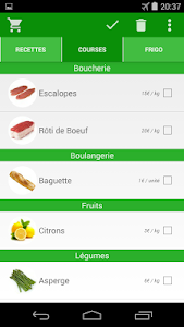 Frigo Malin - Liste de courses screenshot 0