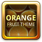 Orange Fruit Theme GO Launcher
