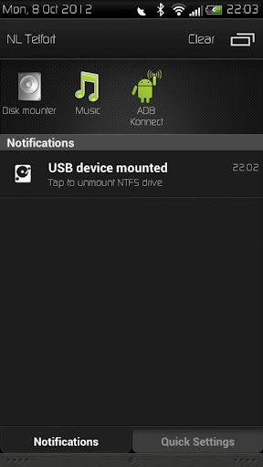 HTC USB Host Disk Mounter