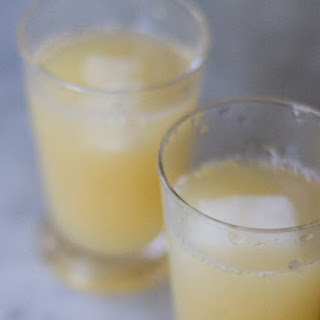 Lime, Grapefruit and Ginger Juice.