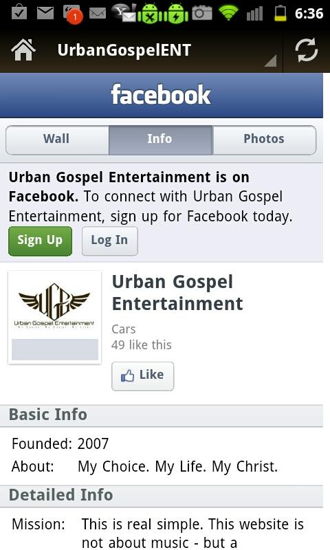 Urban Gospel LIVE - screenshot