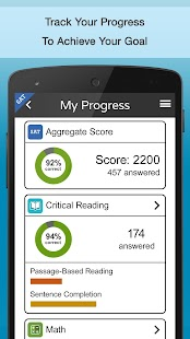 play2prep:ACT, SAT + PSAT prep - screenshot thumbnail