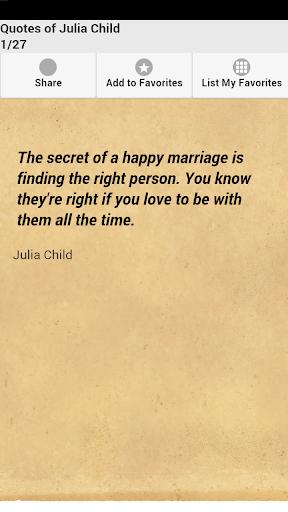 Quotes of Julia Child