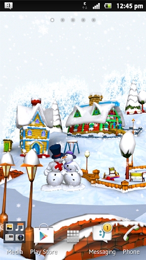 Free Christmas Snowman Winter