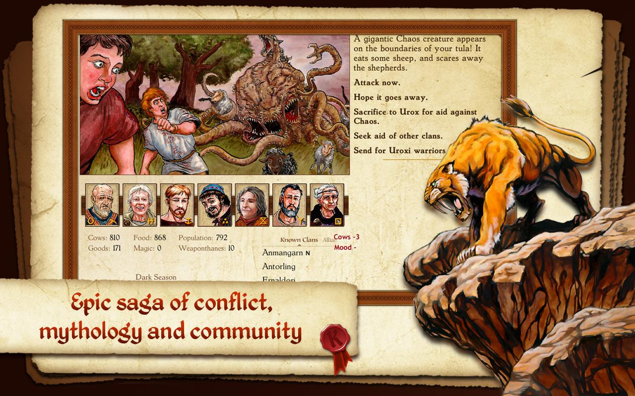 king of dragon pass text adventure rpg android apps on google play