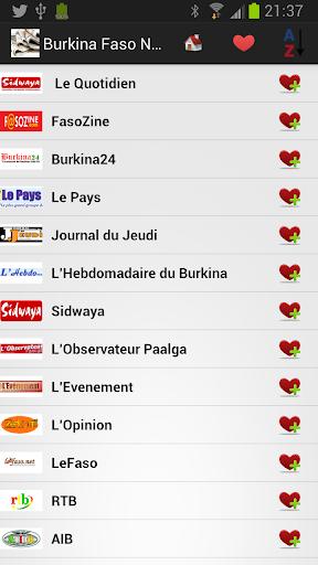 Burkina Faso Daily Newspapers