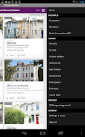 Screenshot of Zoopla Property Search