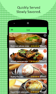 French food recipes with video android apps on google play for American cuisine topic