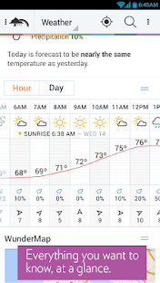 Weather Underground - screenshot thumbnail