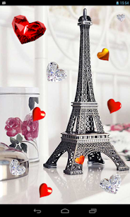 玩個人化App|Valentine Paris live wallpaper免費|APP試玩