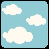 Launcher 8 theme:Blue Sky