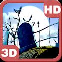 Spooky Halloween Graveyard 3D icon