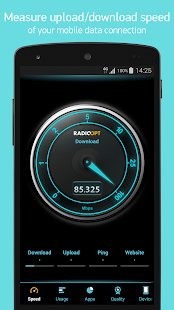 Traffic Monitor+ & 3G/4G Speed- screenshot thumbnail