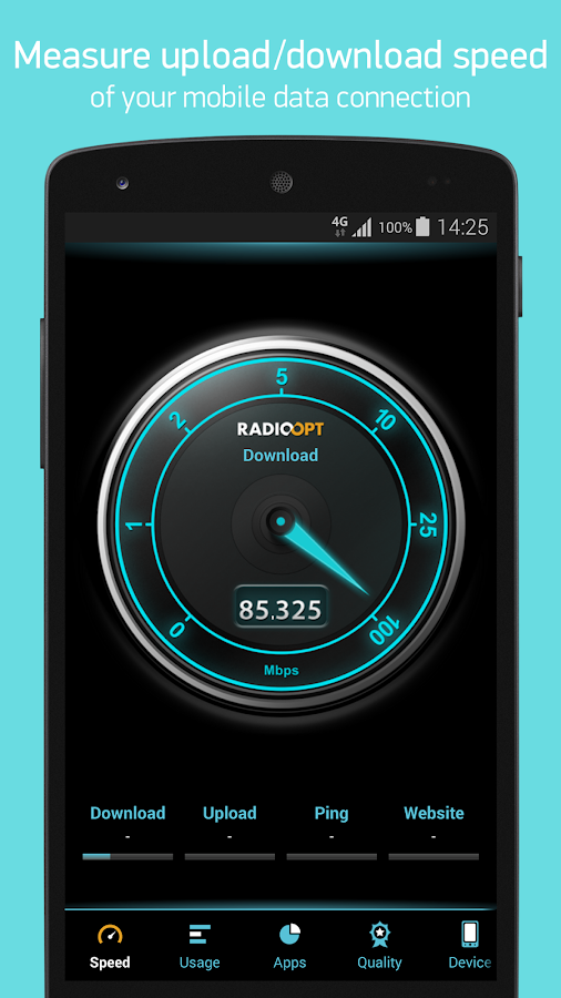 Traffic Monitor+ & 3G/4G Speed- screenshot