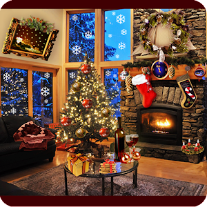 Christmas Fireplace LWP Full v1.11