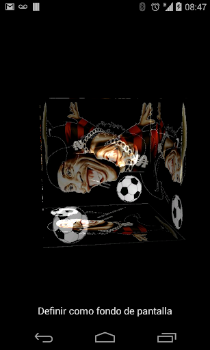 Ronaldinho 3D Live Wallpaper