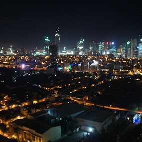 makati nightlife by Iggy - Buildings & Architecture Office Buildings & Hotels ( philippines, makati, nightlife )