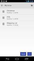 Screenshot of NE Google Drive