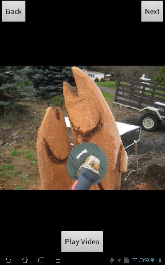 Chainsaw Carving: Finish Work- screenshot