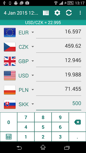Foreign Exchange Rates and Currency Exchange Rate Calculator - CNNMoney