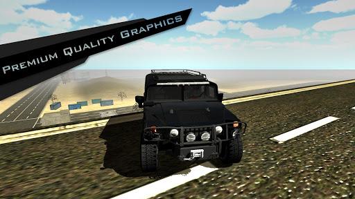4x4 Mountain Driving Simulator