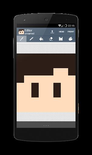 【免費個人化App】Skin Editor for Minecraft-APP點子