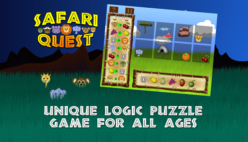 Safari Quest - Logic Puzzle