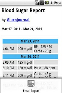 GlucoJournal - screenshot thumbnail