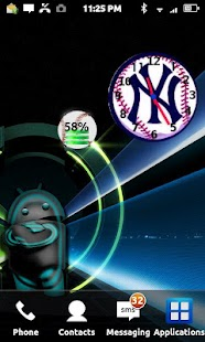 Baseball Battery Widget- screenshot thumbnail