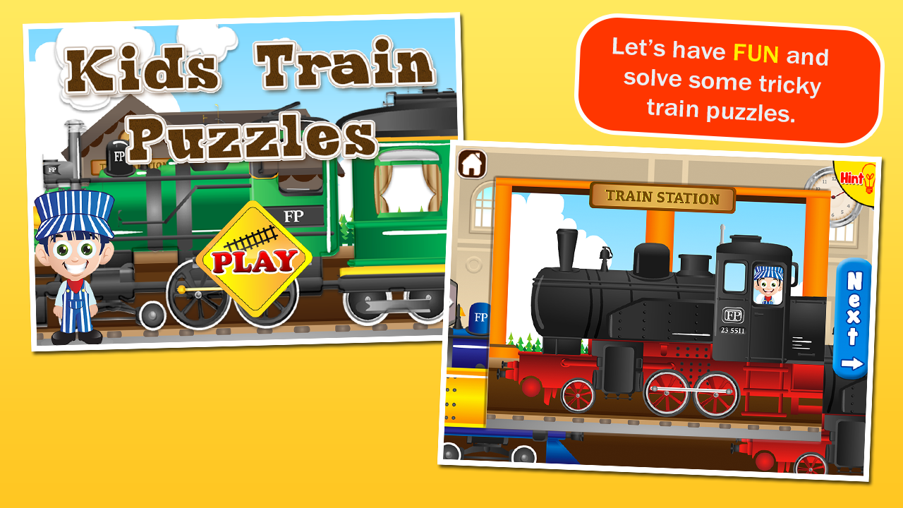 train puzzles for kids android apps on google play
