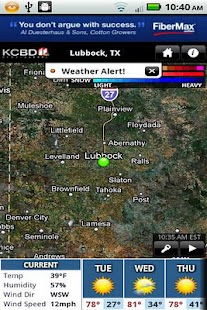 KCBD First Alert Weather - screenshot thumbnail