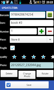 Barcode Scanner & Inventory v4.65