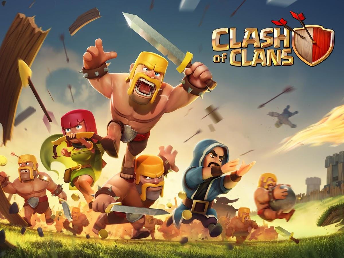 تهكير جديد للرائعه : Clash of Clans v7.200.12 مهكره كل شئ