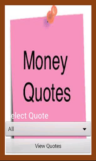 Top Money Quotes