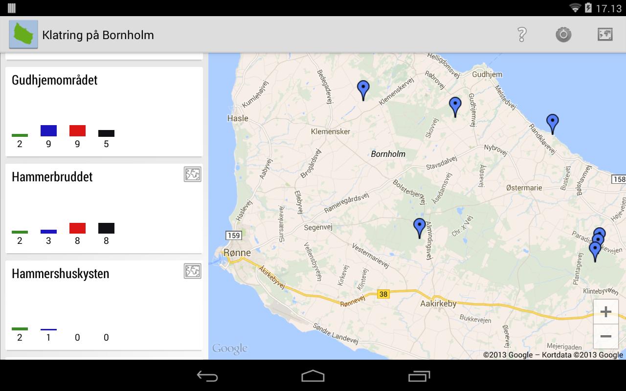 Klatring på Bornholm - screenshot