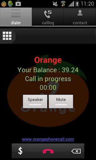 Orange Dialer