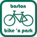 Boston Bike 'n Park logo