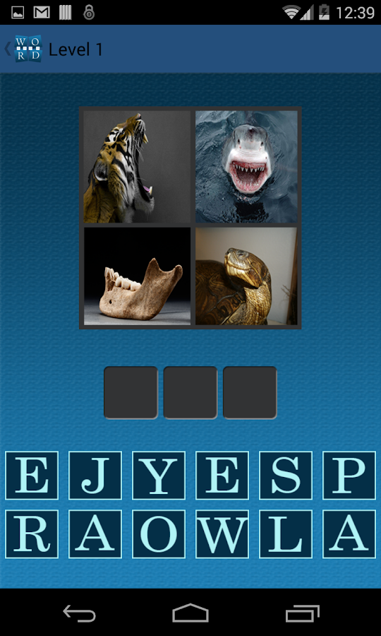 Guess Word 4Pics- screenshot