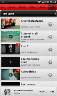 mygreek.fm- screenshot thumbnail
