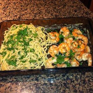 Lemon Parmesan Spaghetti