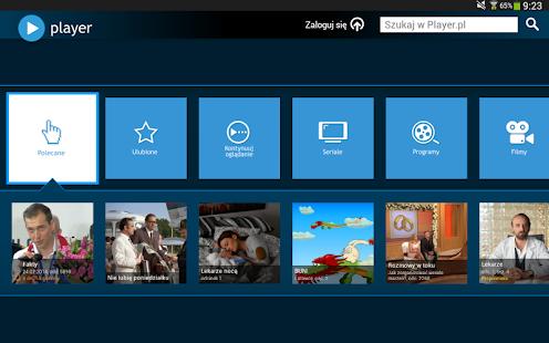 player (tablet) Screenshot 12